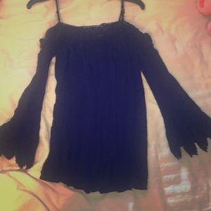 Short dress or long blouse